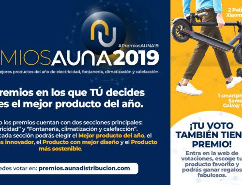 PREMIOS AUNA 2019: ¡¡VUELVEN LOS PREMIOS A LOS MEJORES PRODUCTOS DEL AÑO!!